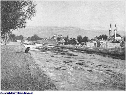 Abana River Damascus Abana River at Damascus