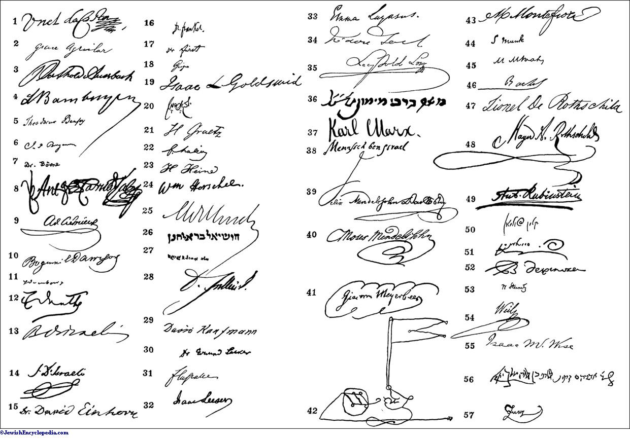 the gallery for gt signatures of famous personalities