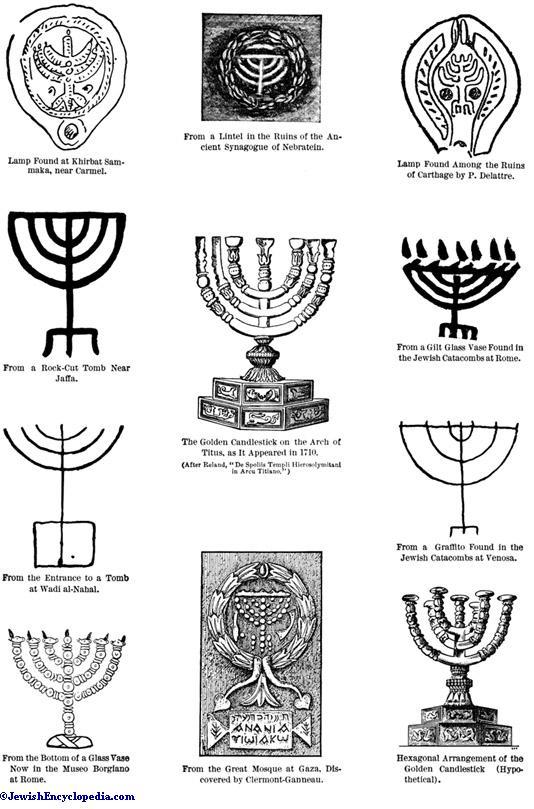 Candlestick Jewishencyclopedia