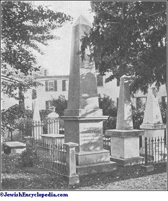 the jewish cemetery at newport
