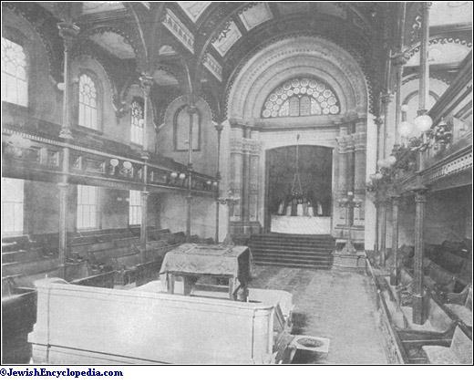 Synagogue Jewishencyclopedia Com