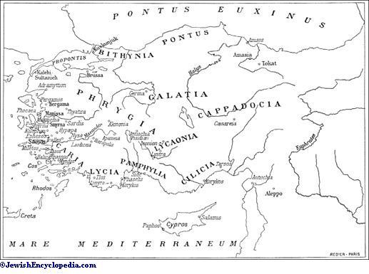 Asia Minor Jewishencyclopedia Com