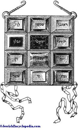 Breastplate Of The High Priest Jewishencyclopedia Com