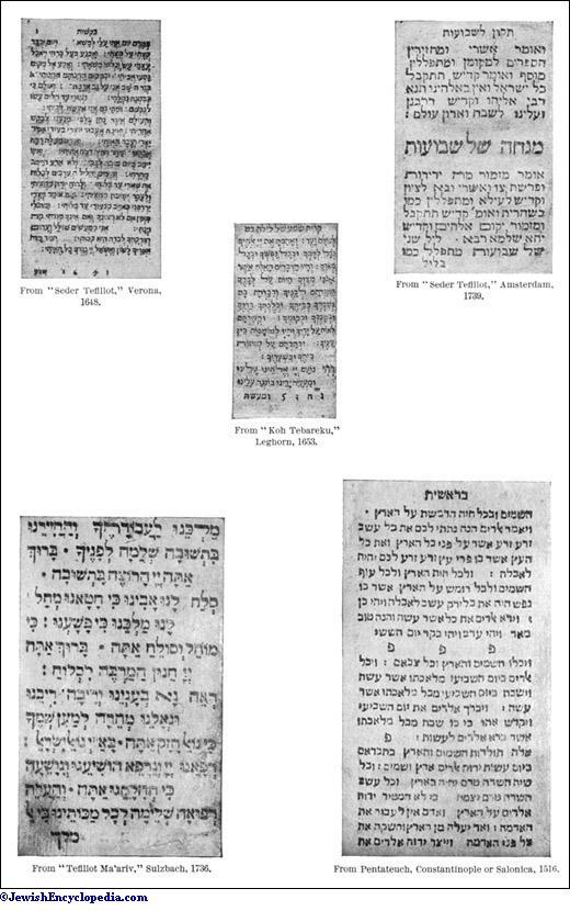 TYPOGRAPHY - JewishEncyclopedia com